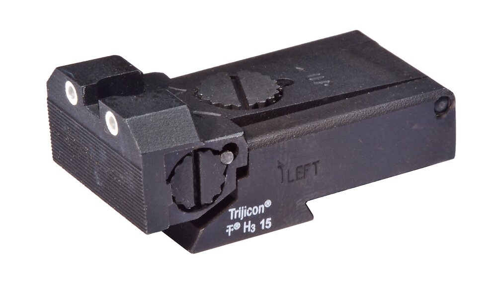 Tritium rear sight - high
