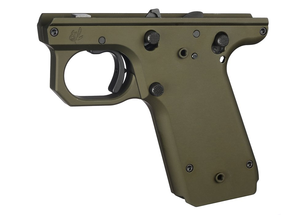 VC Target Frame, 1911 Style, OD Green | Volquartsen Firearms