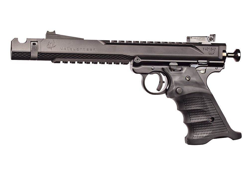 Volthane MK IV Grips on pistol