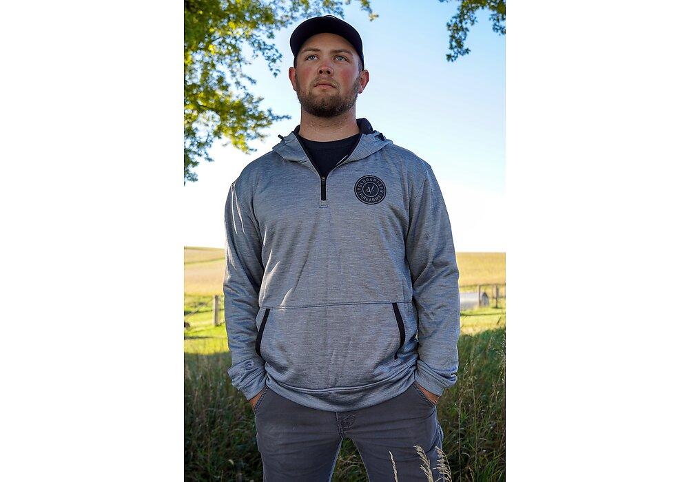 Kolby Pavlock 1/4 zip hoodie A