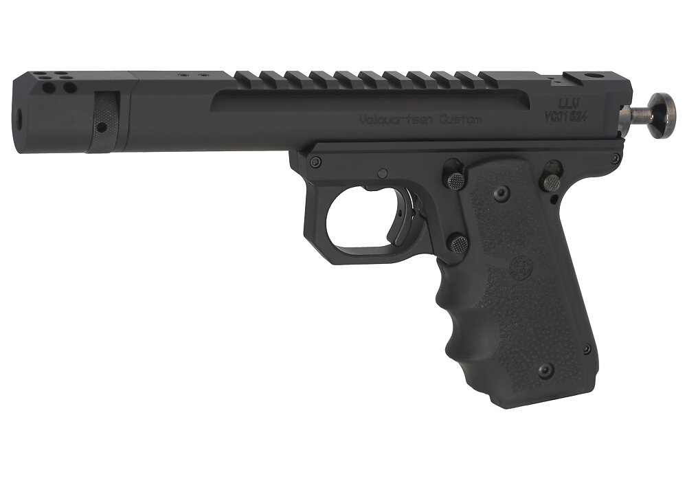 Scorpion Open Model, 1911 Style Frame, Comp, Hogue Grips