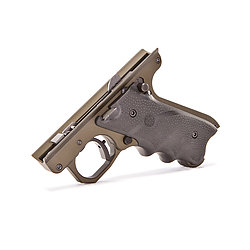 OD Green Frame with Hogue Grips Target 22