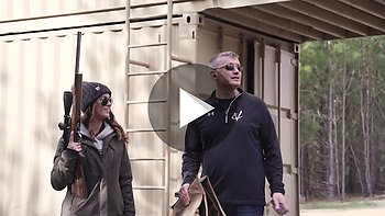 Preview of: Range Sessions with Scott Volquartsen Part 3/7 featuring Sportswoman Courtney