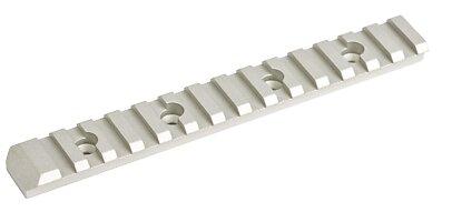 Flat top rail - silver
