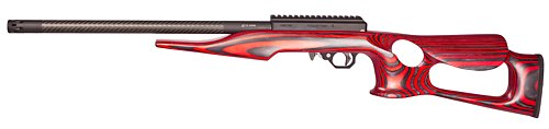 Superlite with Red Lightweight Thumbhole Stock