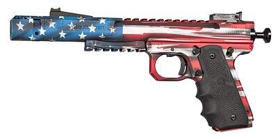 USA Flag Scorpion with fiber optic sights