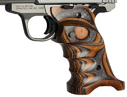 Smith & Wesson SW22 Victory 910-0-sw22-grips-in-brown-grey