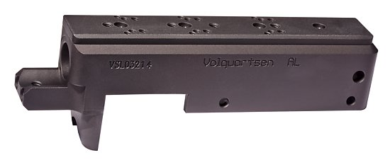 Black Receiver with Universal Mount